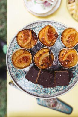 High tea cakes and sweet treats