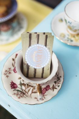 Vintage teacup and high tea hire